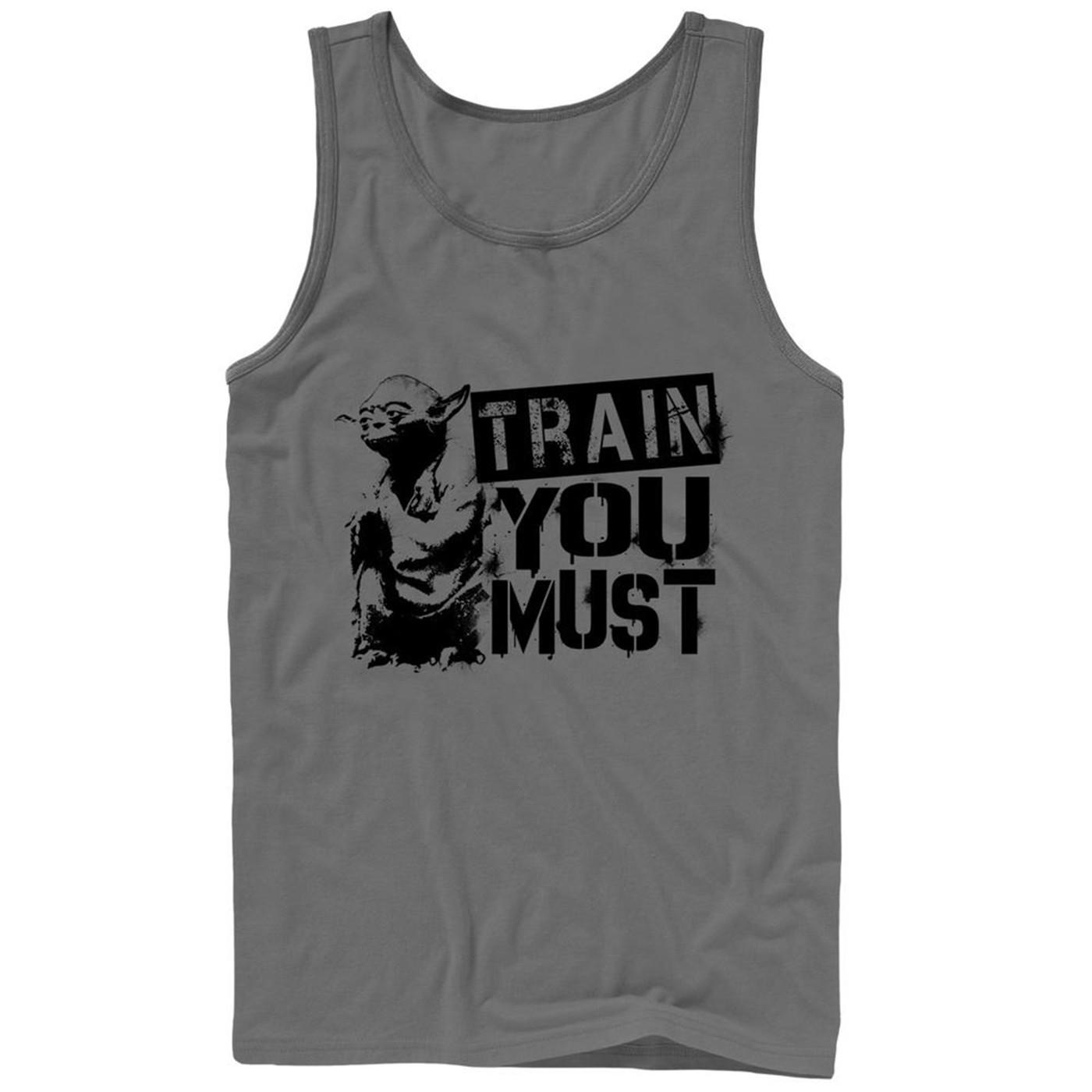 Yoda Train You Must Tank Top