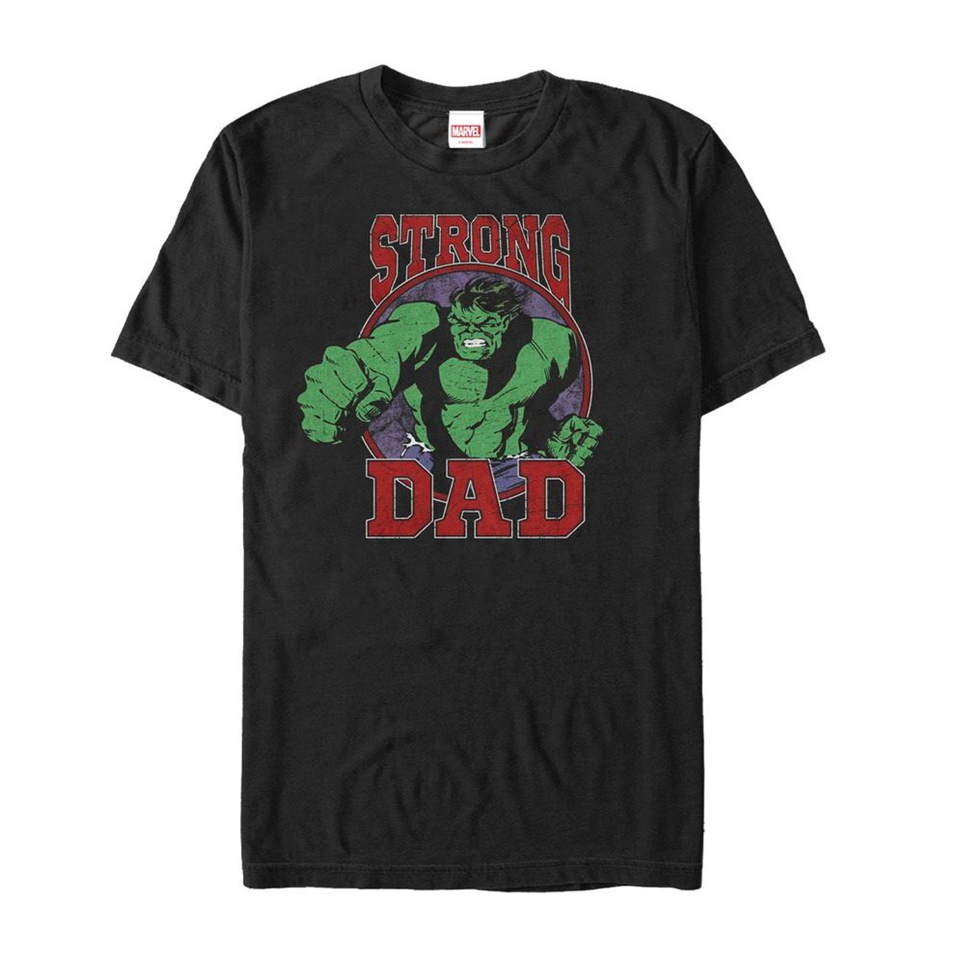 Father's Day Hulk Strong Dad T-Shirt