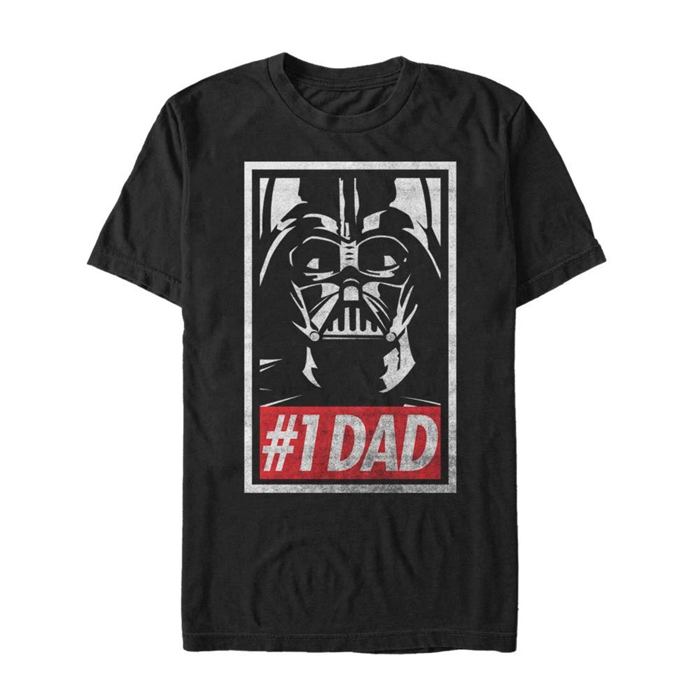 Darth Vader Number One Dad T-Shirt