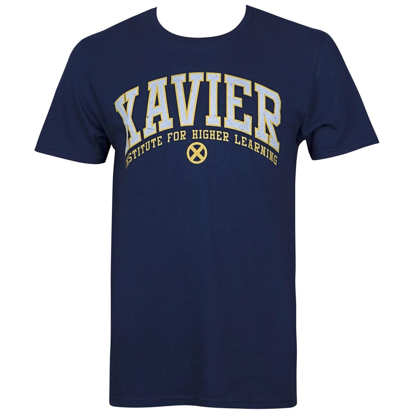 X-Men Xavier Institute for Higher Learning Men's T-Shirt
