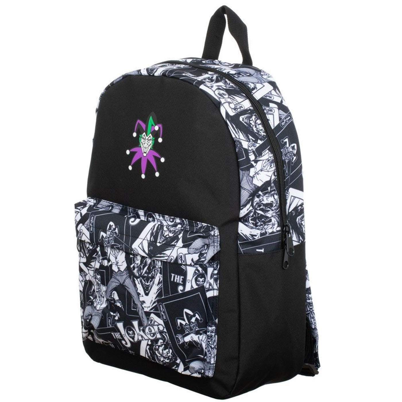 Joker Sublimated Panel Print Backpack