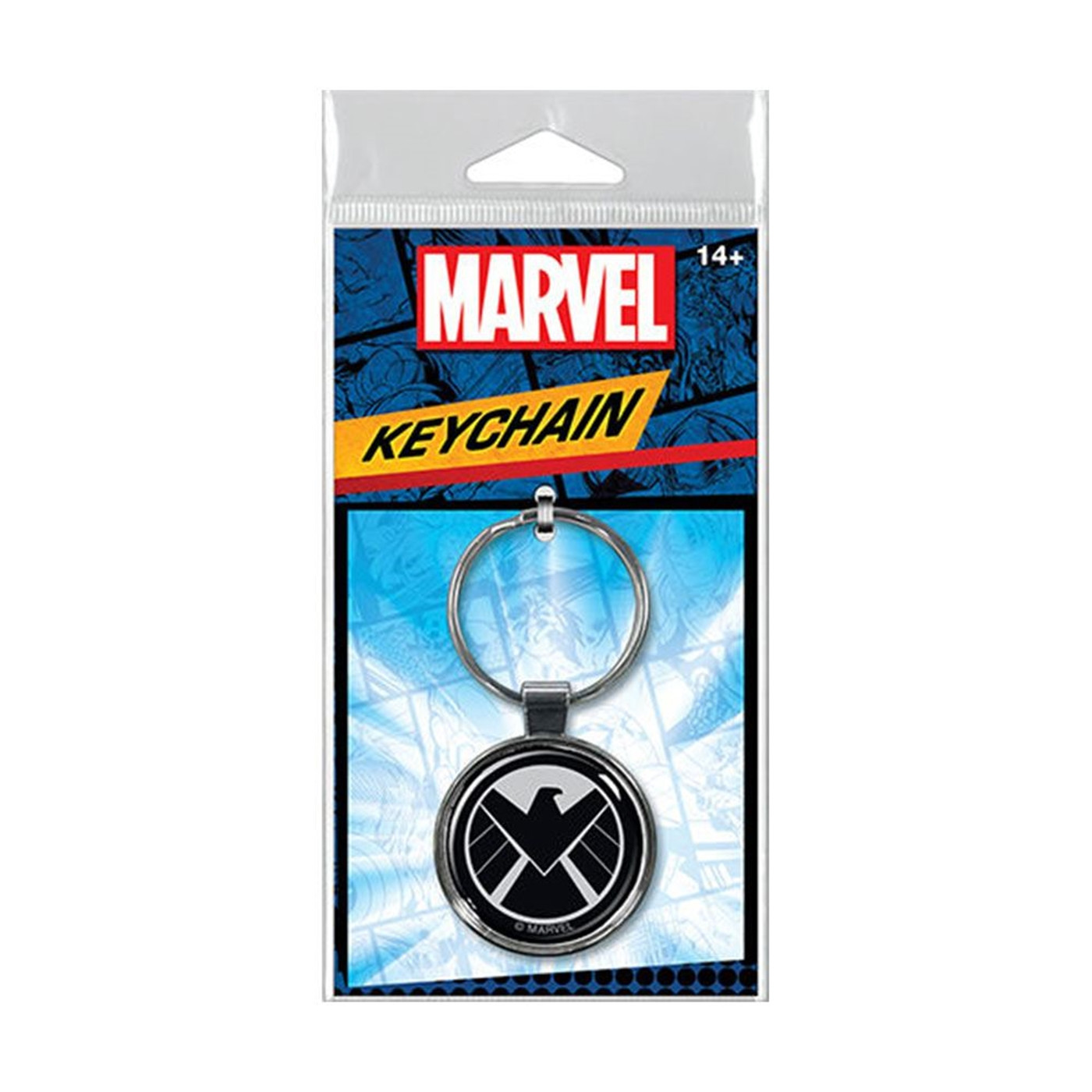 Marvel Shield Logo Keychain