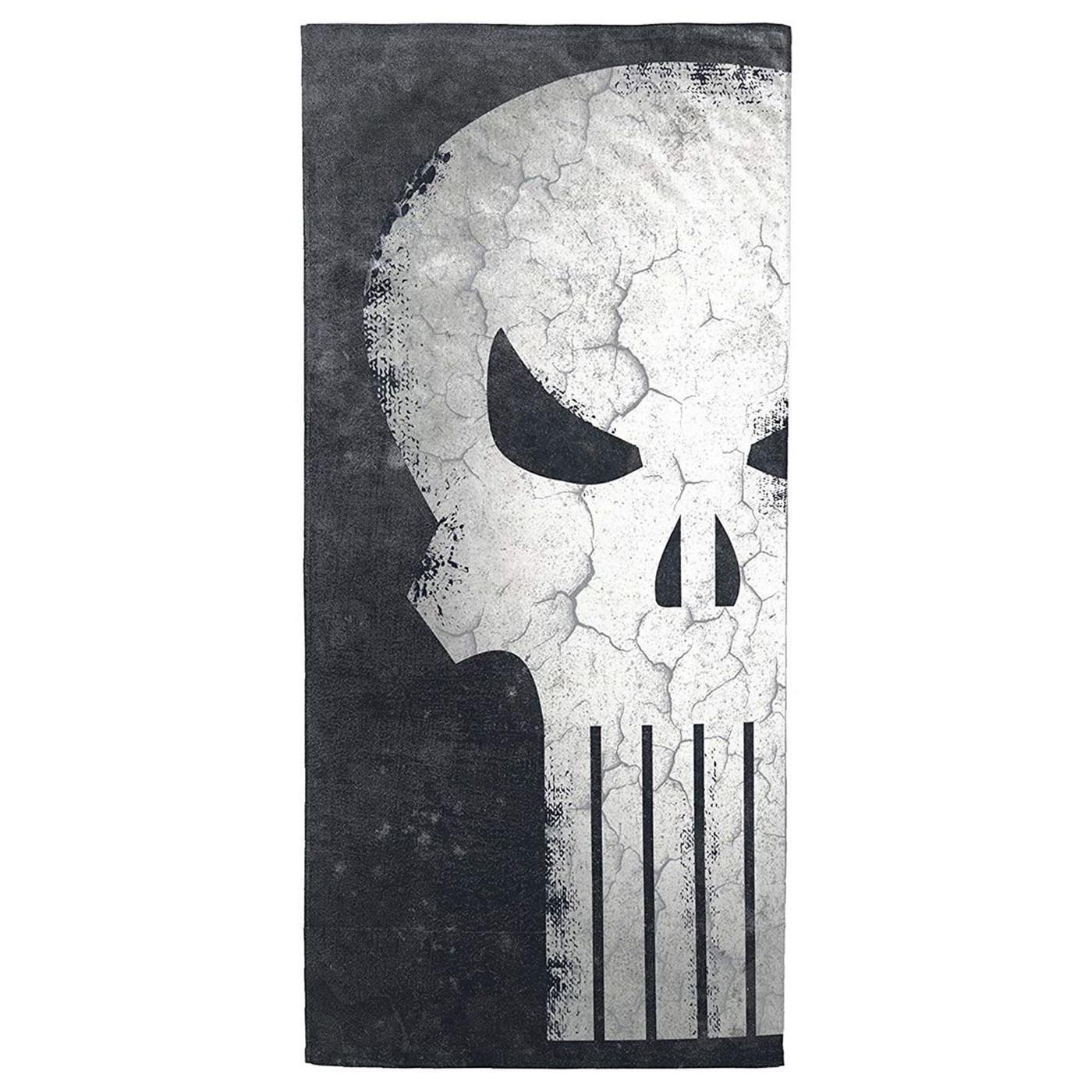 Punisher Skull Beach Towel