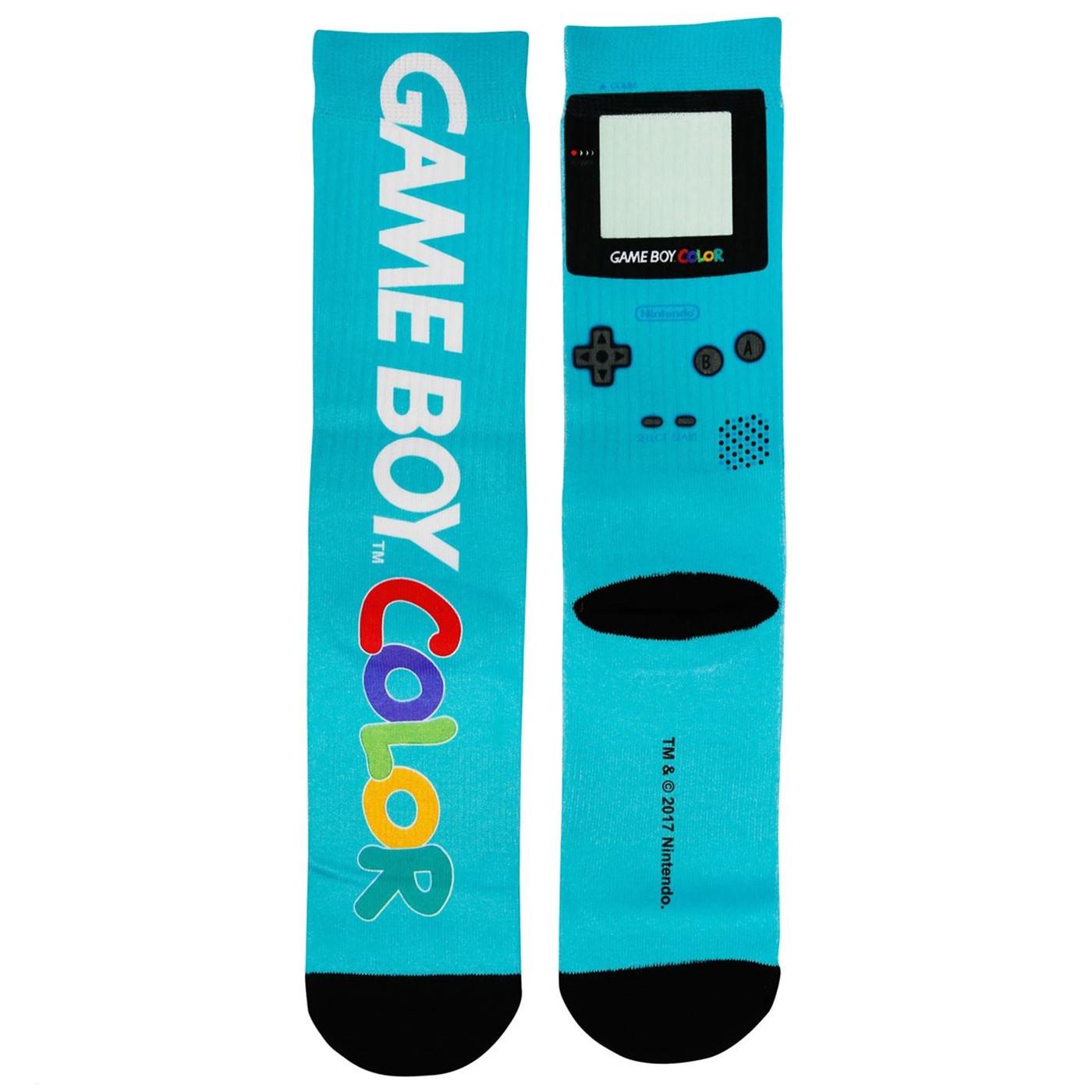 Nintendo Gameboy Color Socks
