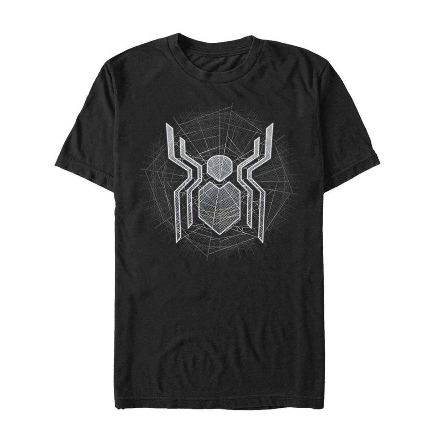 Spider-Man: Far From Home Ghostly Logo Men's T-Shirt
