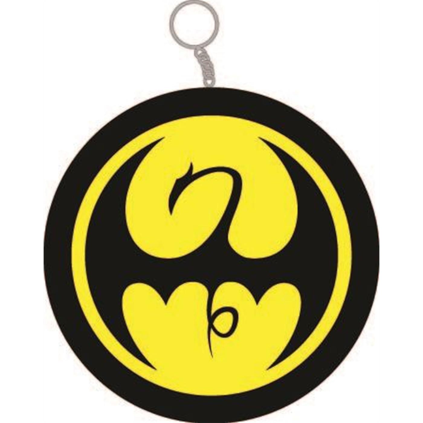 Iron Fist Symbol Keychain