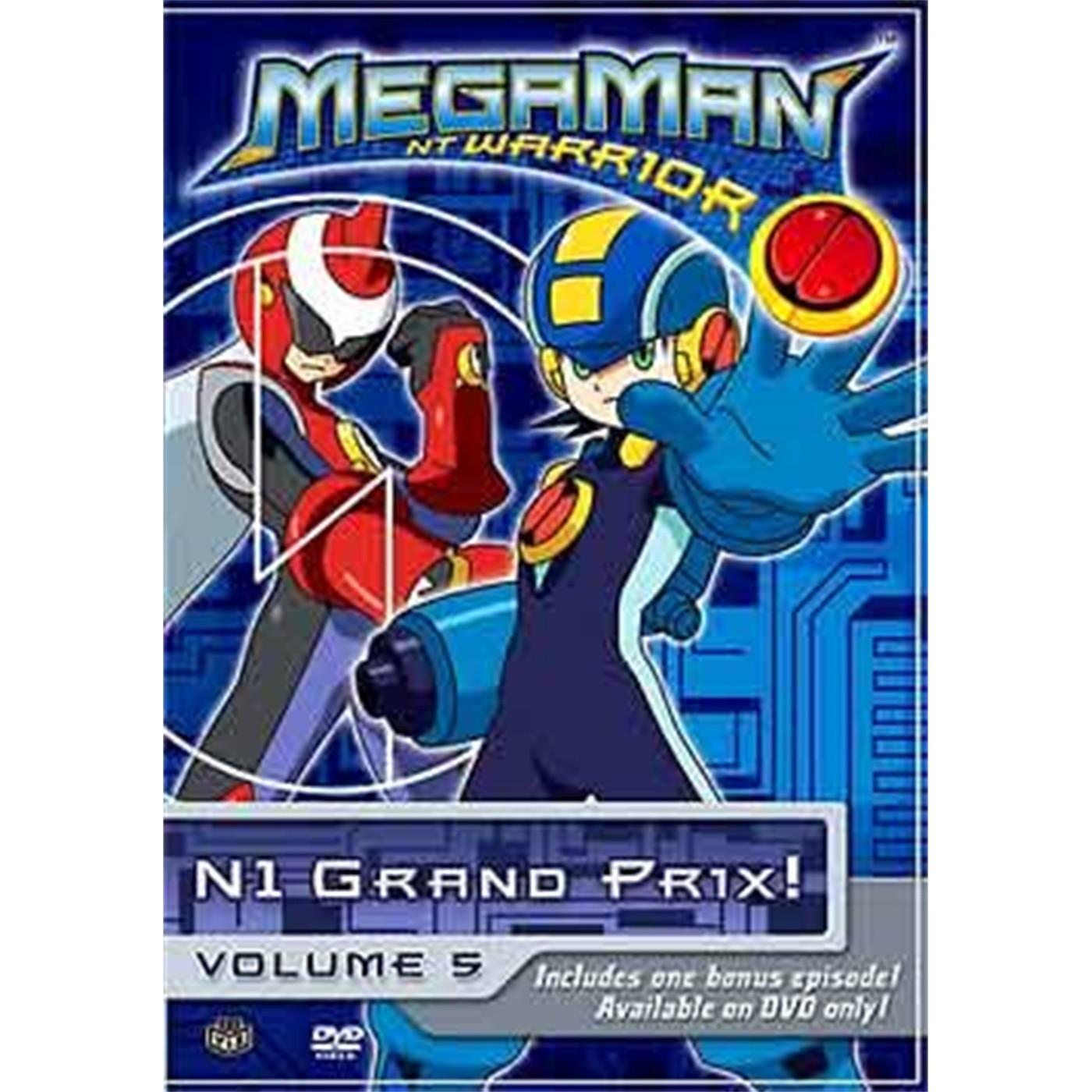 MEGAMAN NT WARRIOR, Vol. 5: N1 Grand Prix!  (DVD)