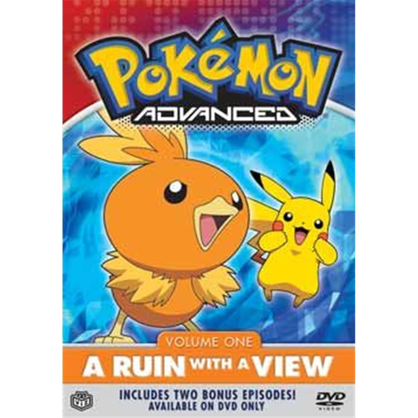 POKEMON ADVANCED (DVD), VOLUME 1