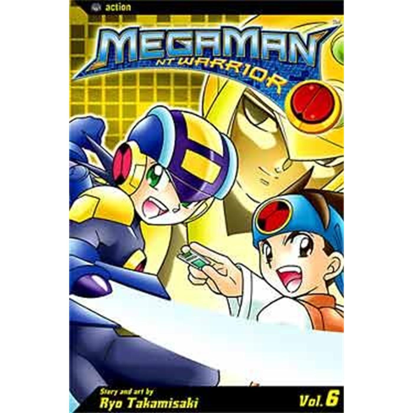 MEGAMAN NT WARRIOR, Vol. 6