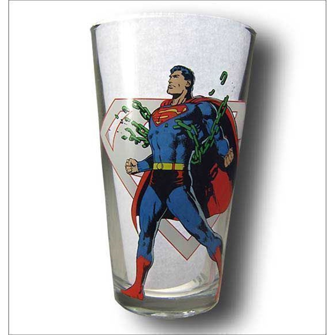 Superman Power Pint Glass