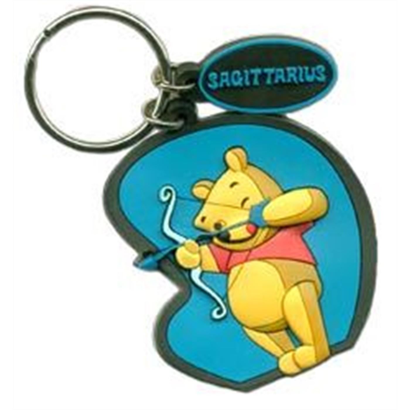 Disney Zodiac Keychain: Sagittarius - Pooh