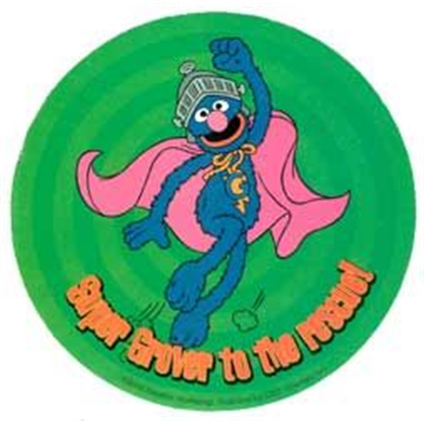 Sesame Street Sticker: Super Grover