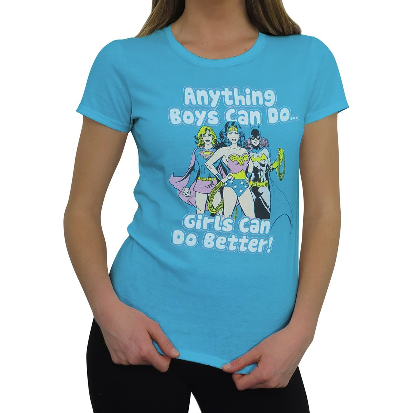 DC Girls Do It Better Women's T-Shirt