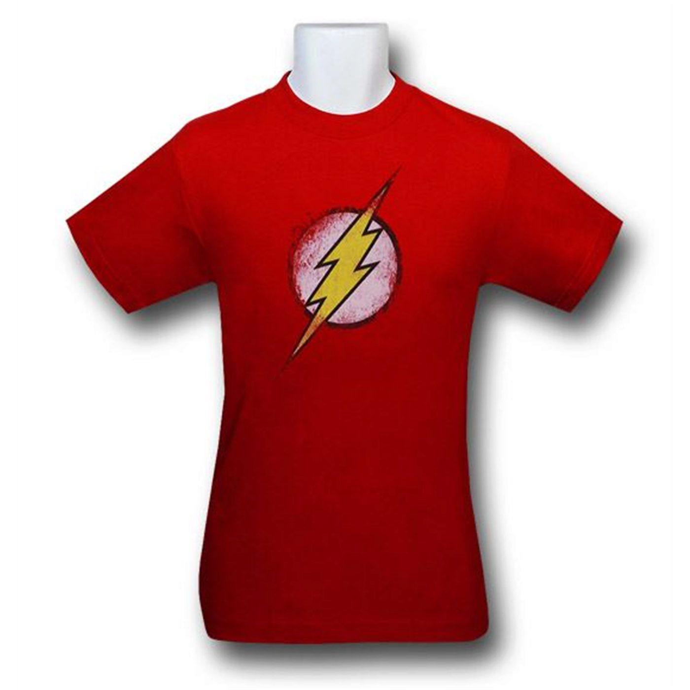 Flash Thrashed Symbol Kids T-Shirt