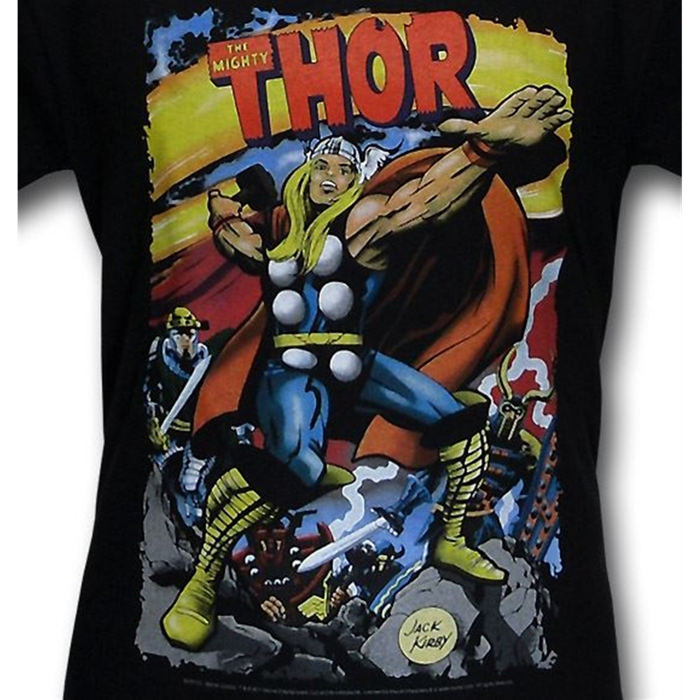The Mighty Thor by Jack Kirby T-Shirt