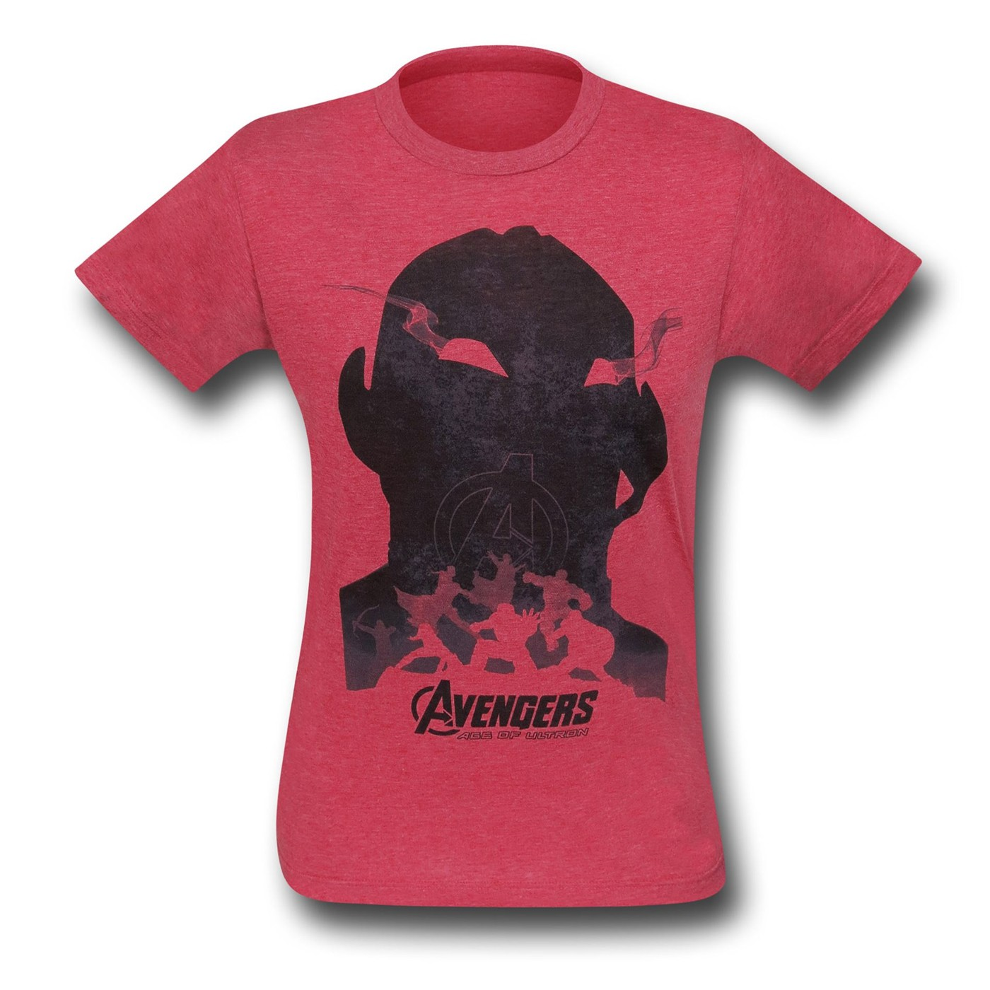 Avengers Age of Ultron Shadow 30 Single T-Shirt