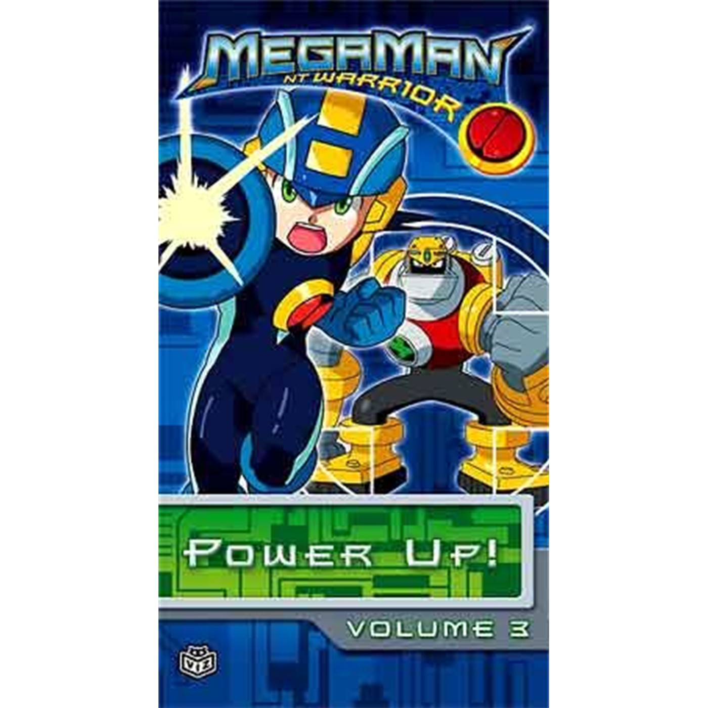 MEGAMAN NT WARRIOR, Vol. 3 (VHS)