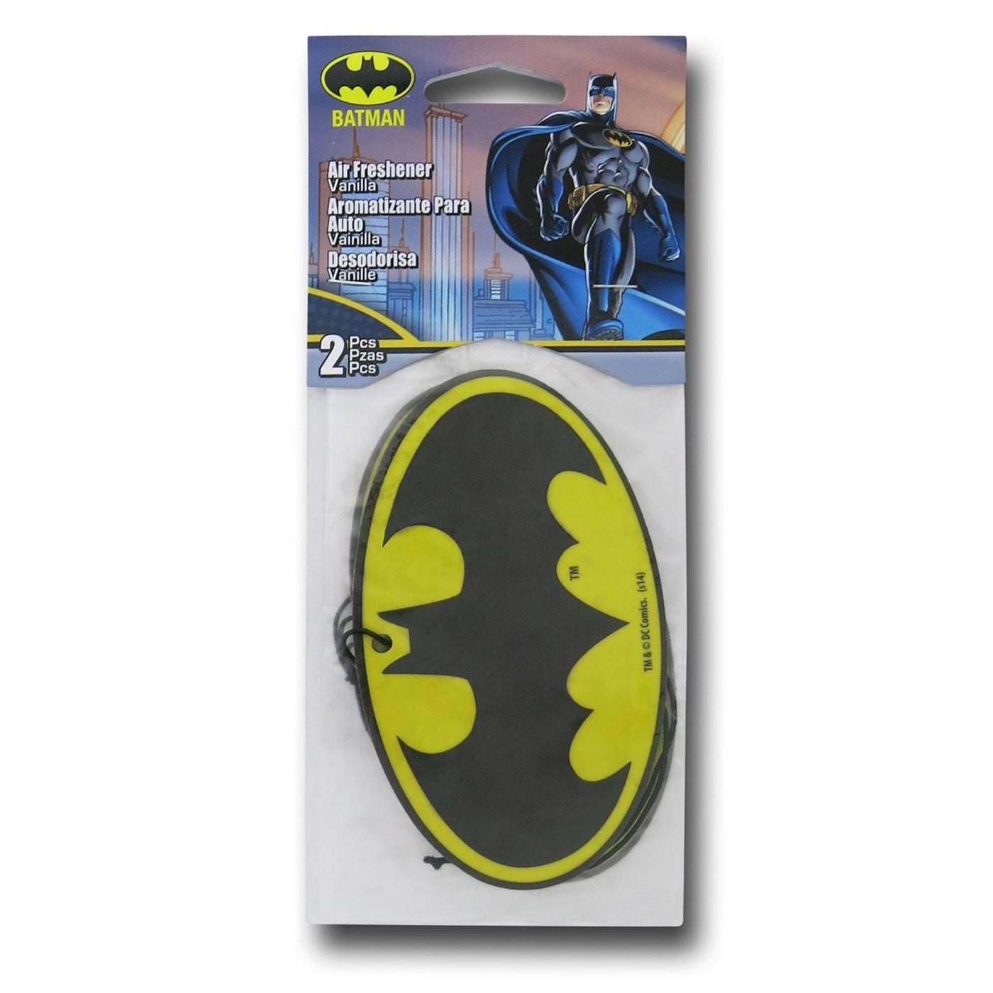 Batman Air Freshener 2-Pack