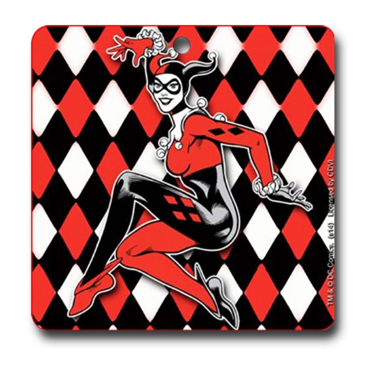 Harley Quinn Car Air Freshener