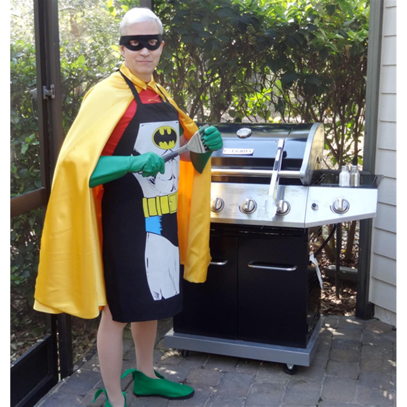 Batman Figure Cooking Apron
