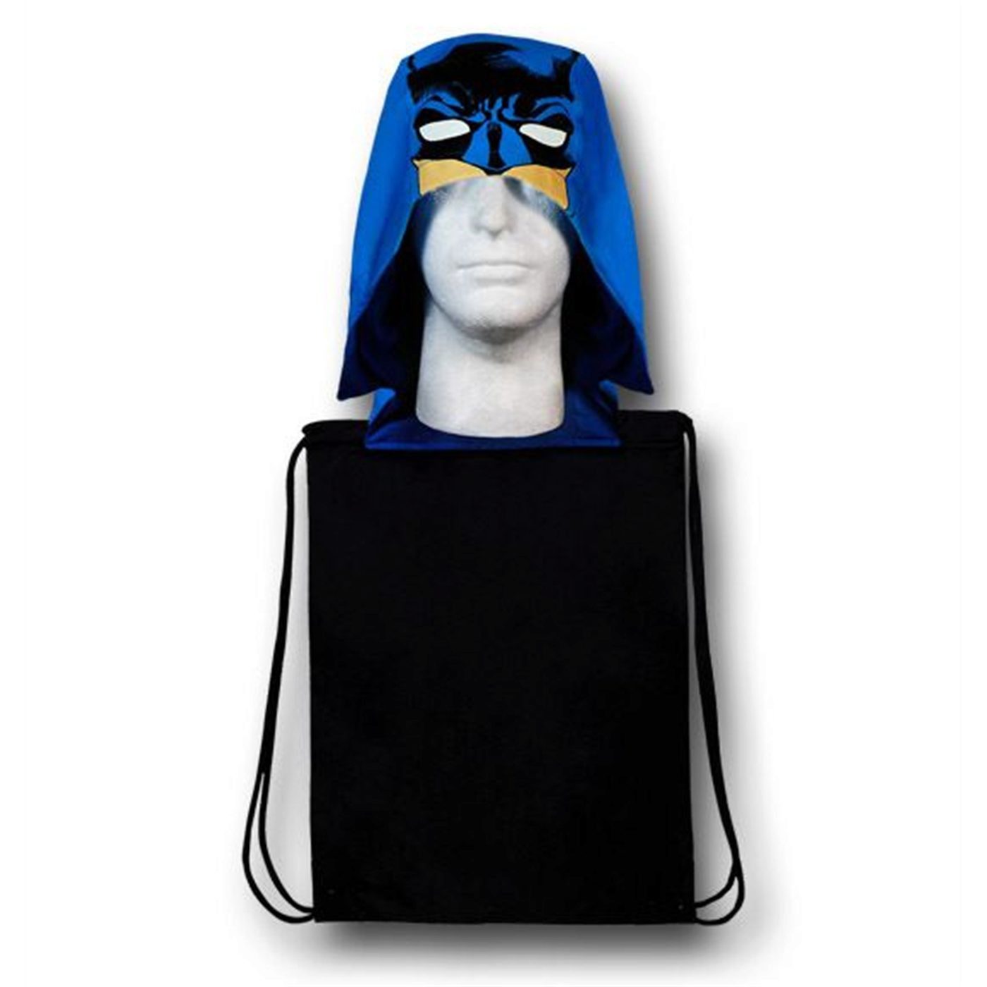 Batman Face Hooded Symbol Backsack