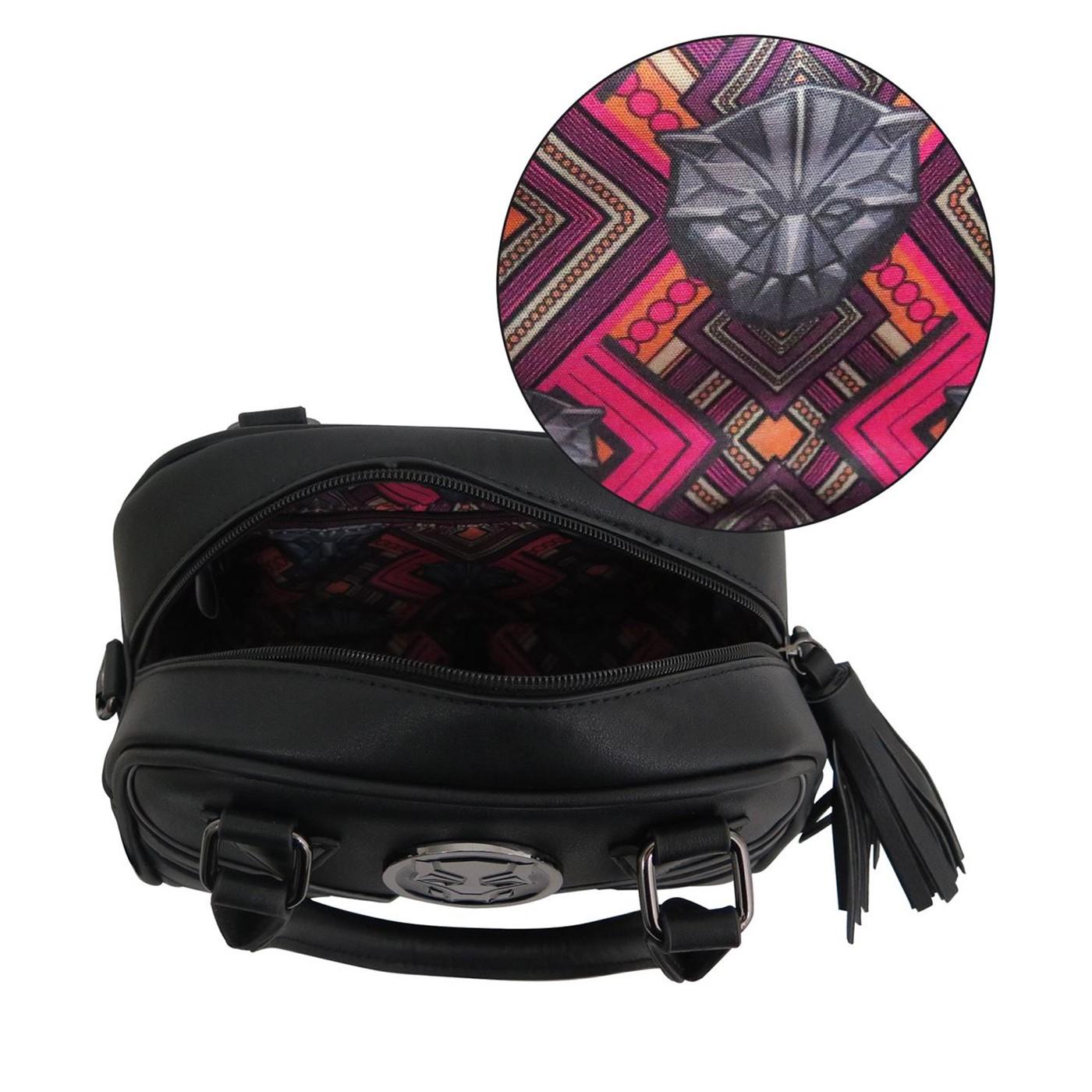 Black Panther Movie Logo Satchel Handbag