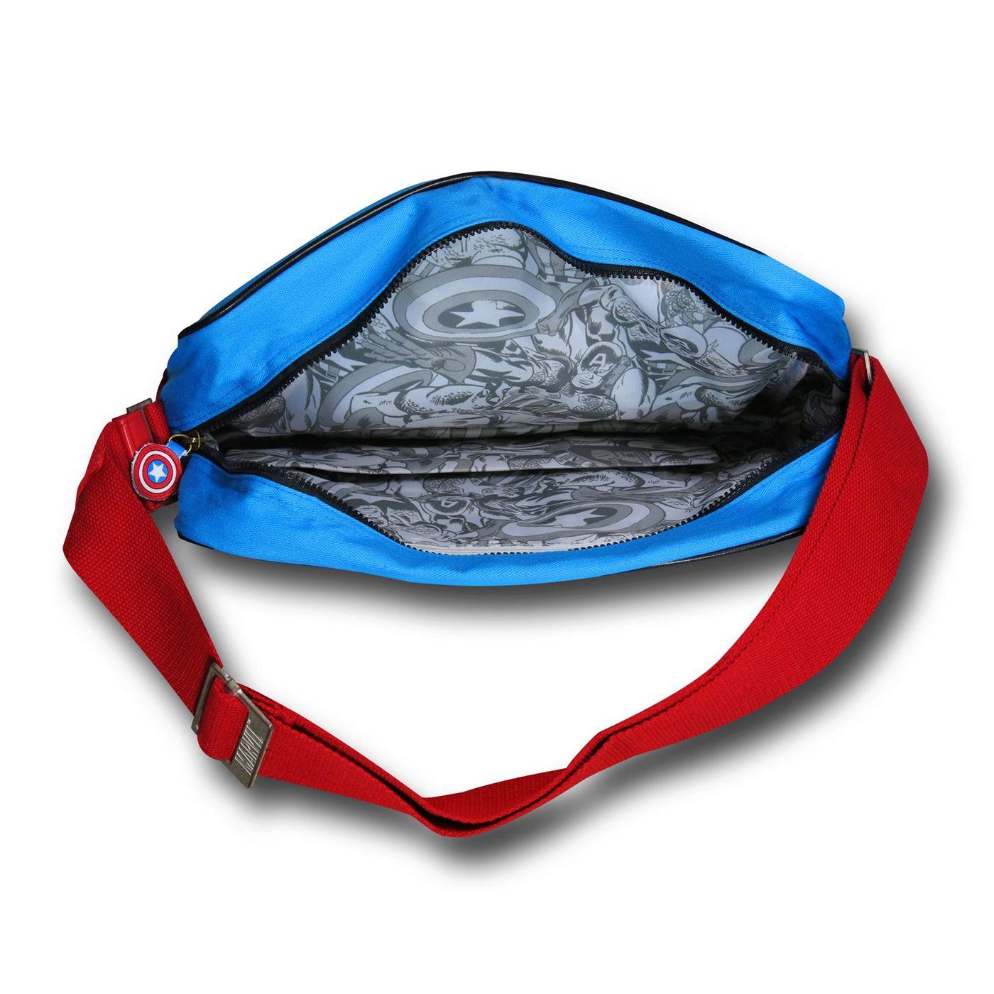 Captain America Costume Messenger Bag