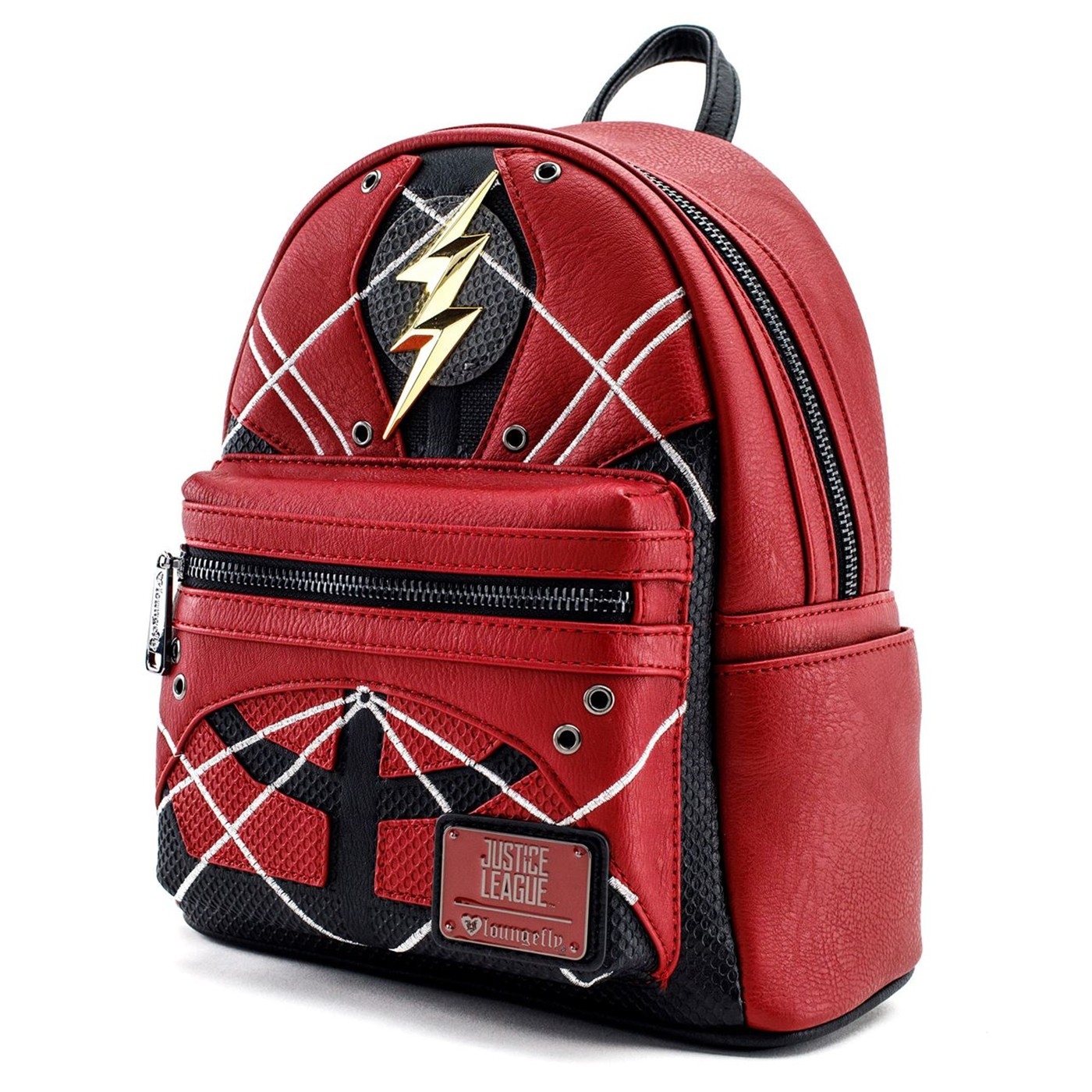 Flash Justice League Armor Mini Backpack
