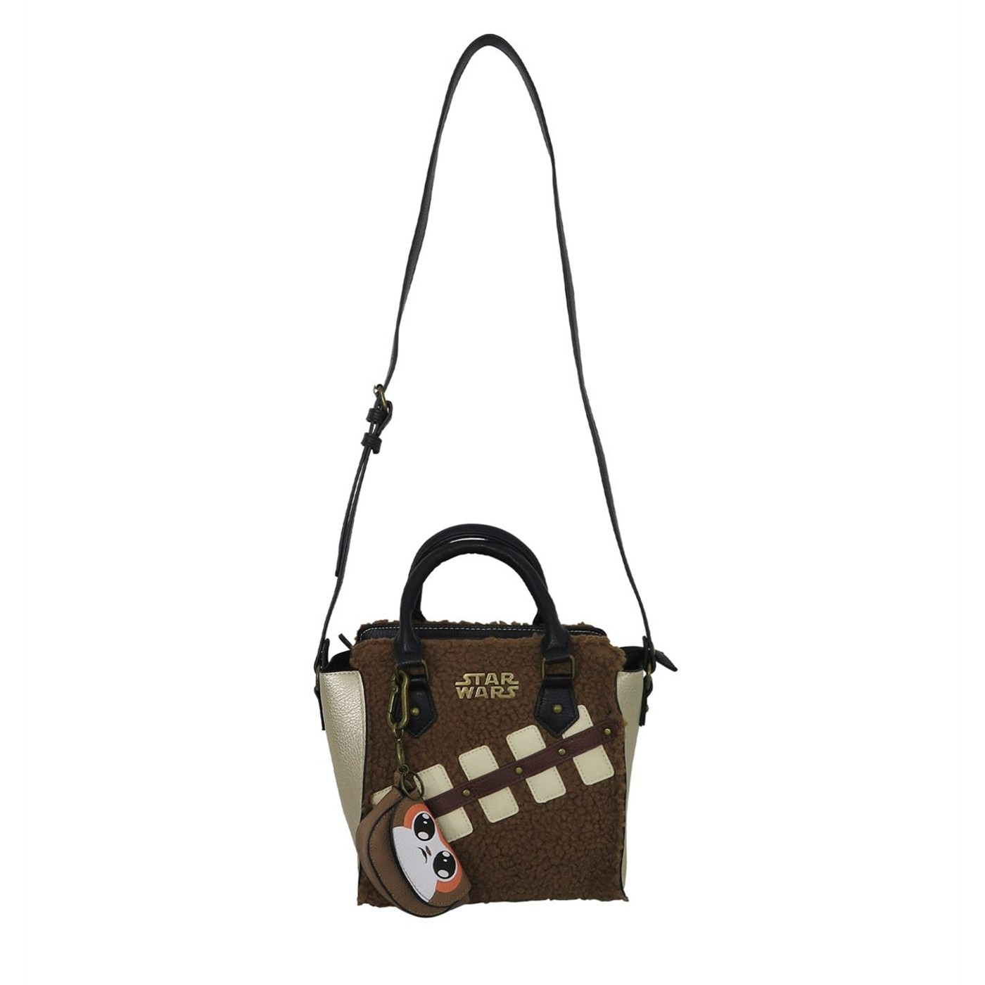Star Wars Last Jedi Chewie & Porg Women's Mini Handbag