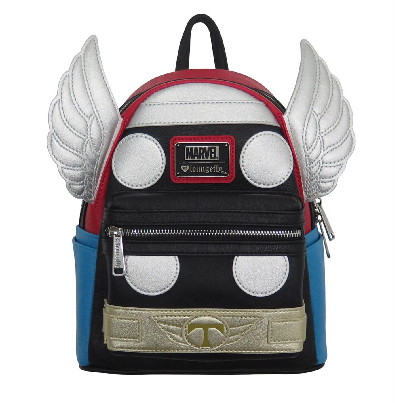 Thor Applique Detailed Cosplay Loungefly Mini Backpack