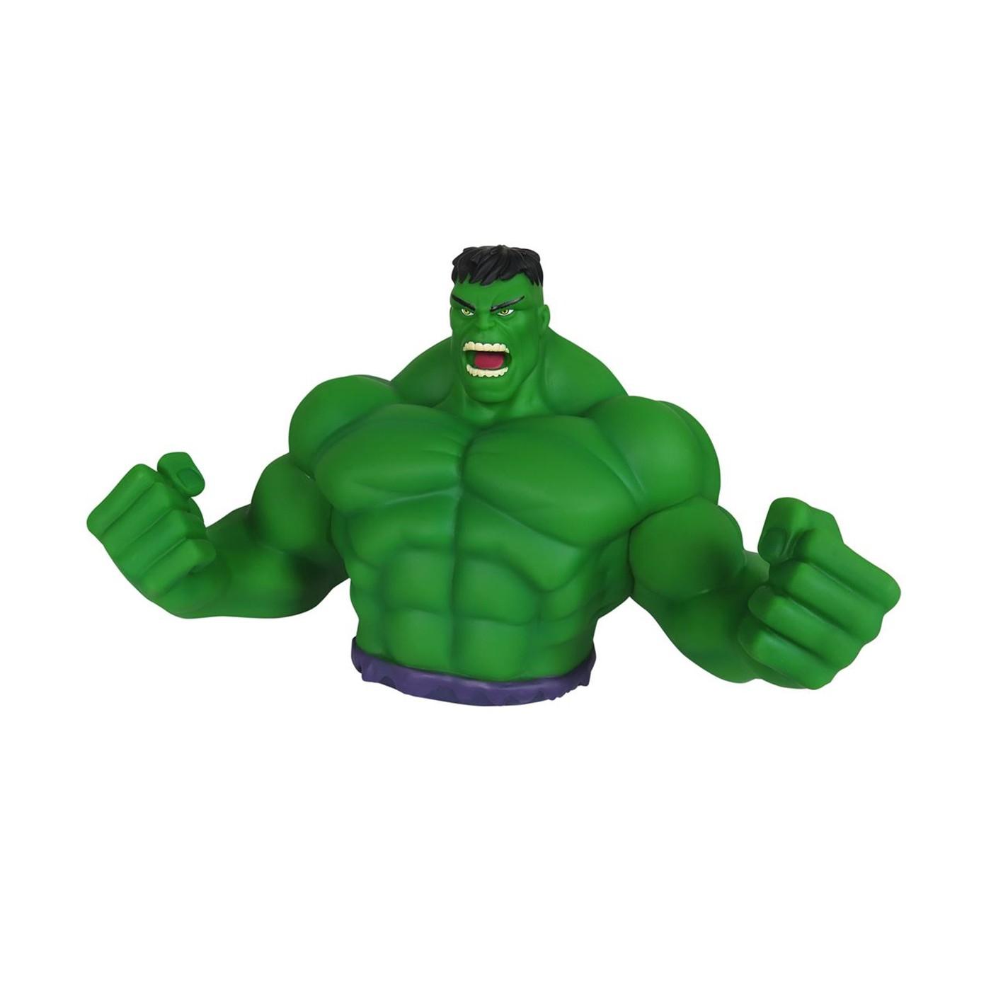 Hulk Angry Face Bust Bank