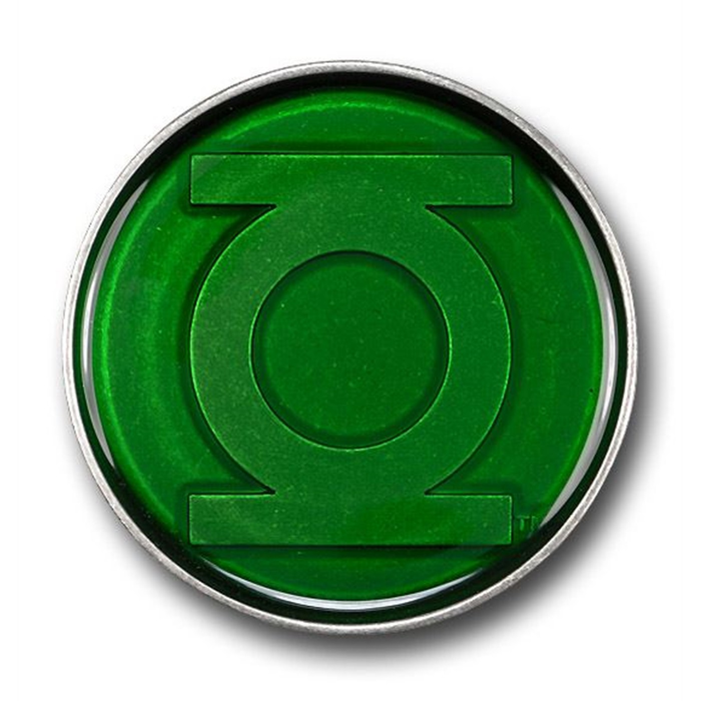 Green Lantern Translucent Green Belt Buckle