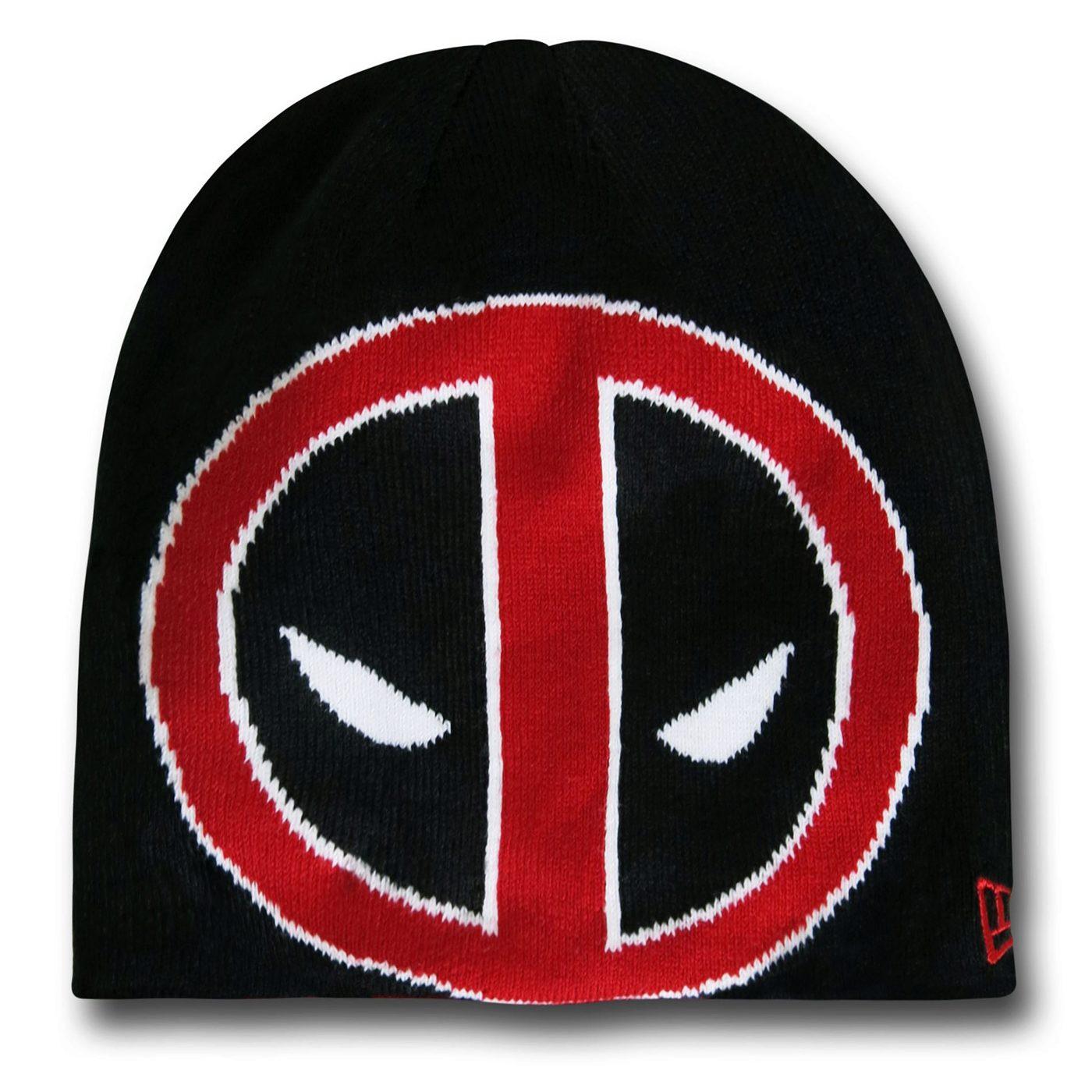 Deadpool Symbol Reversible Beanie