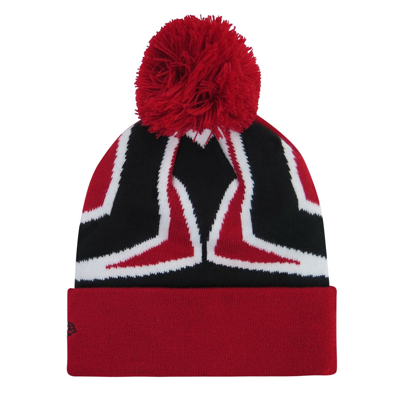 Spider-Man Big Symbol Kids Pom Pom Youth Beanie