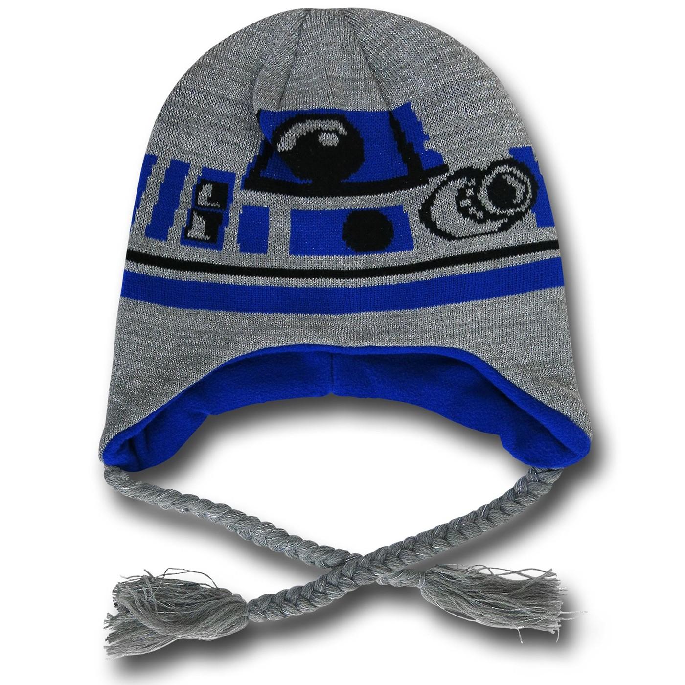 Star Wars R2D2 Laplander Beanie