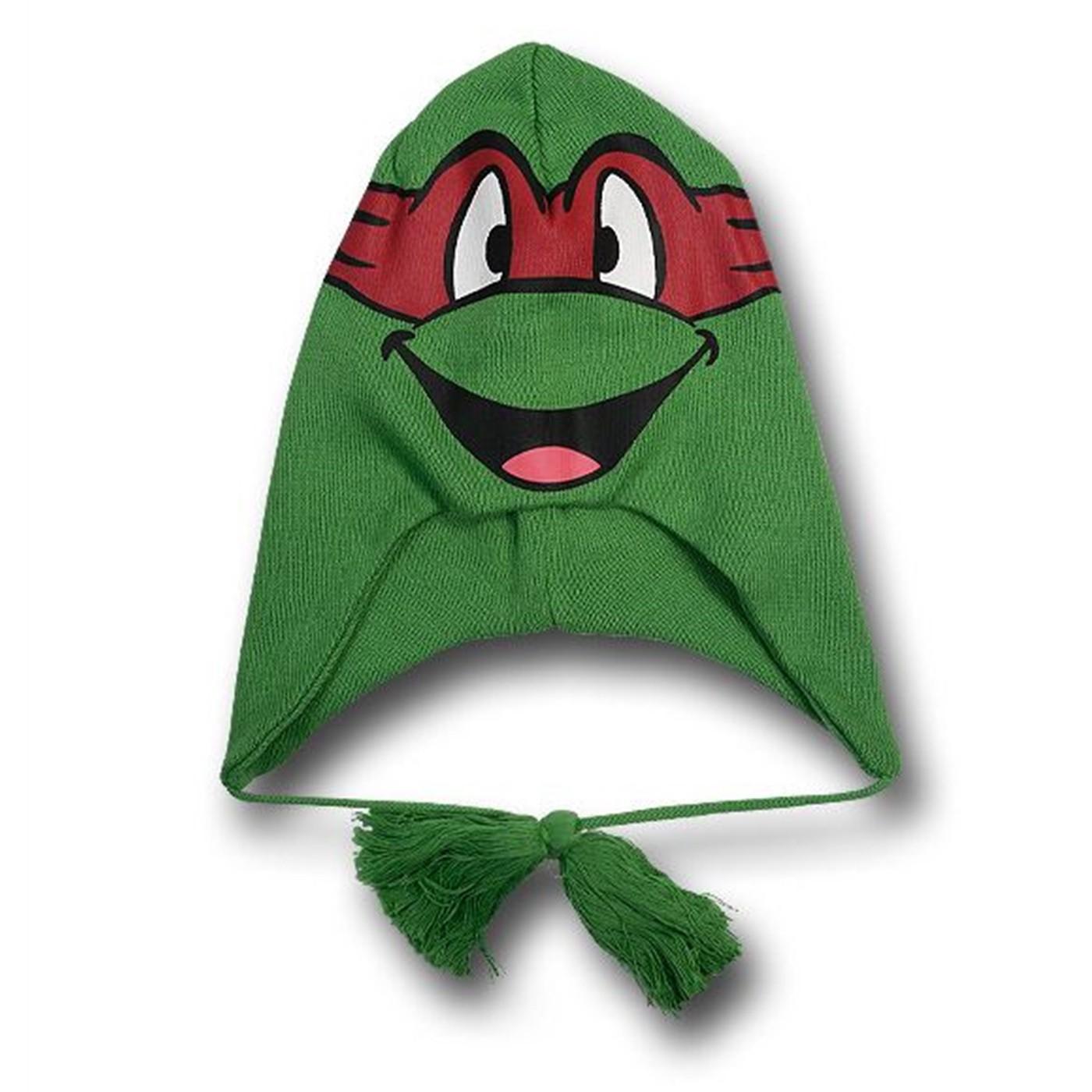 NEW Child Christmas Raphael Peruvian Hat Teenage Mutant Ninja Turtles TMNT