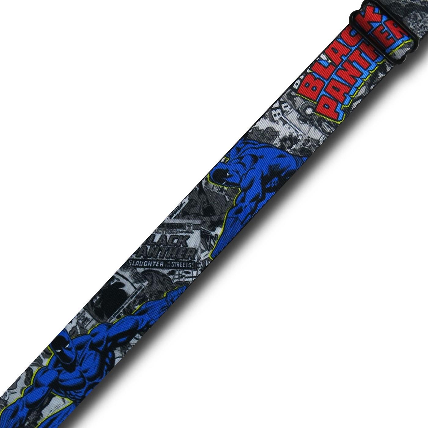 Black Panther Seatbelt Belt