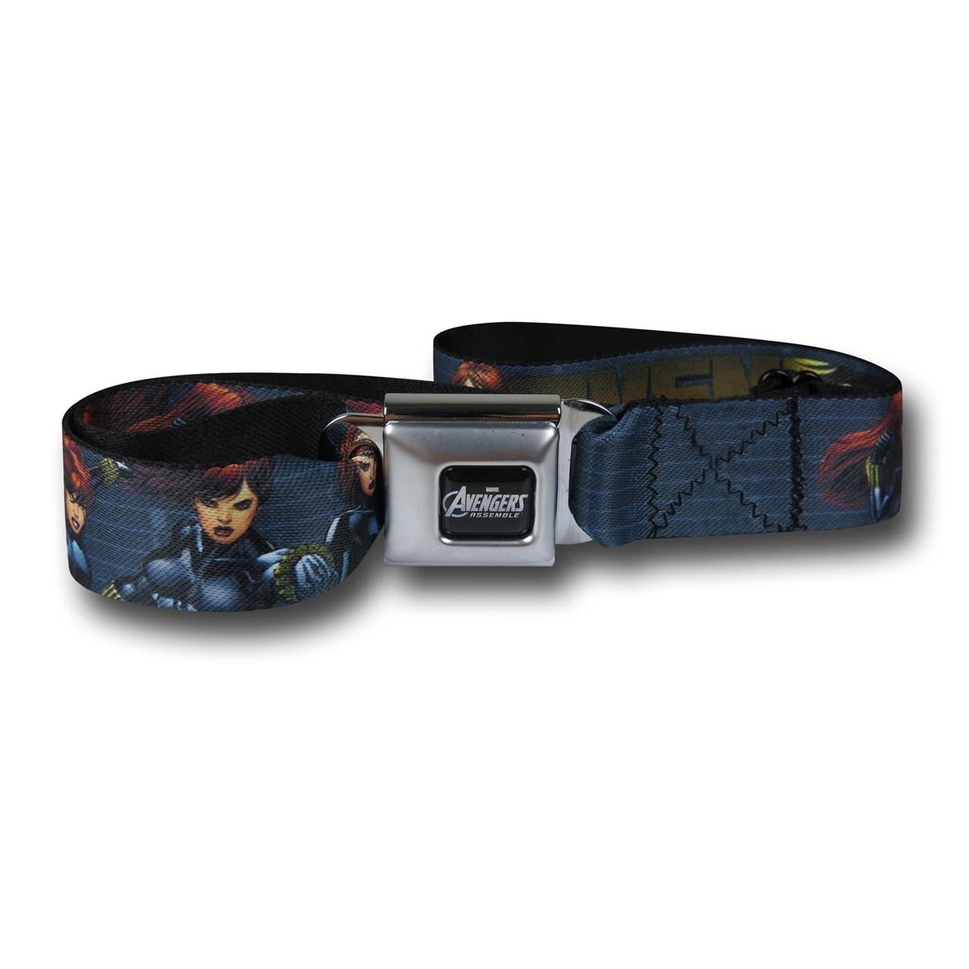 Black Widow Seatbelt Belt