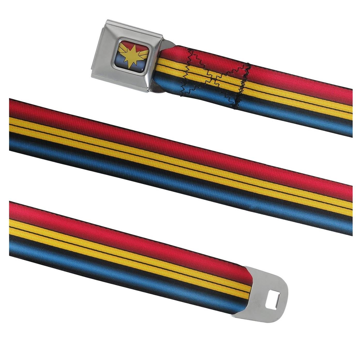 Captain Marvel Seatbelt Belt