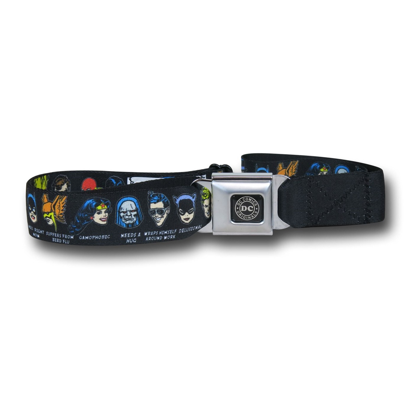 DC Head Games Seatbelt Belt