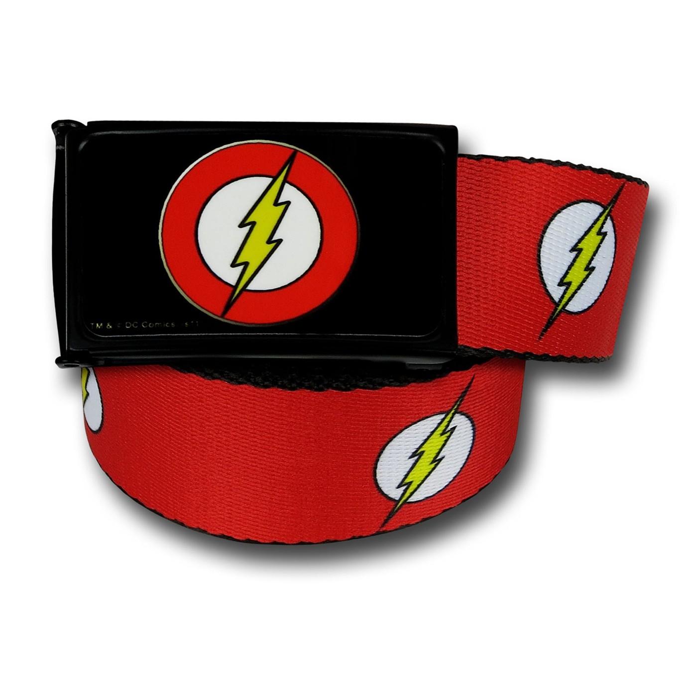 Flash Symbols Web Belt