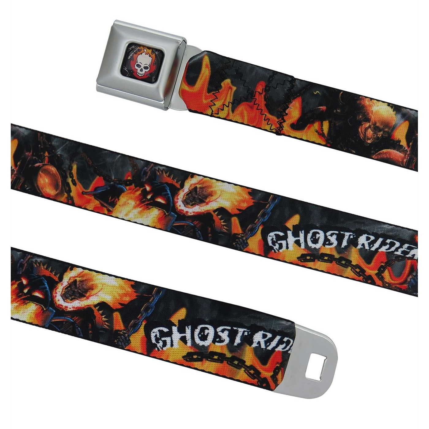 Ghost Rider Hellfire Seatbelt Belt