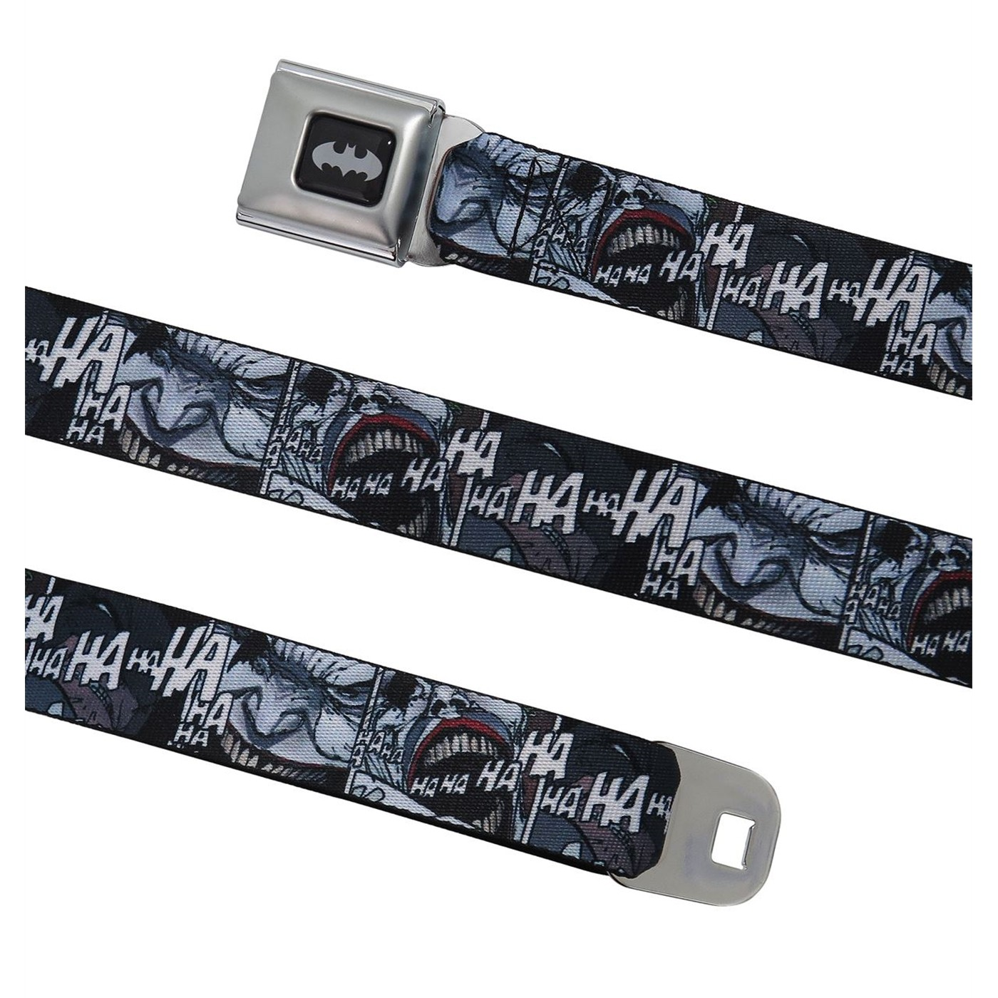 Joker Dark Knight Returns Laughing Gas Seatbelt Belt