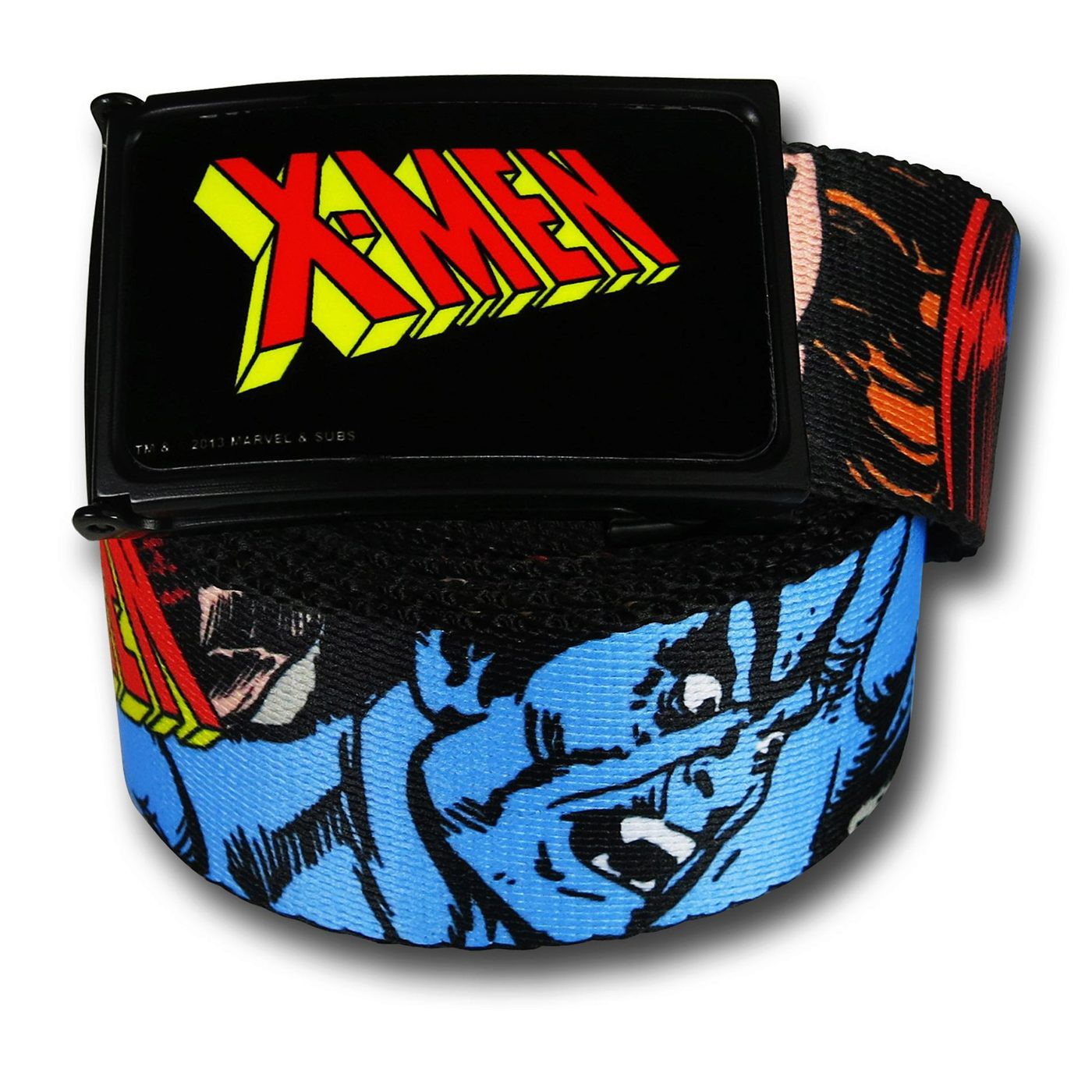 X-Men Mutant Images Web Belt