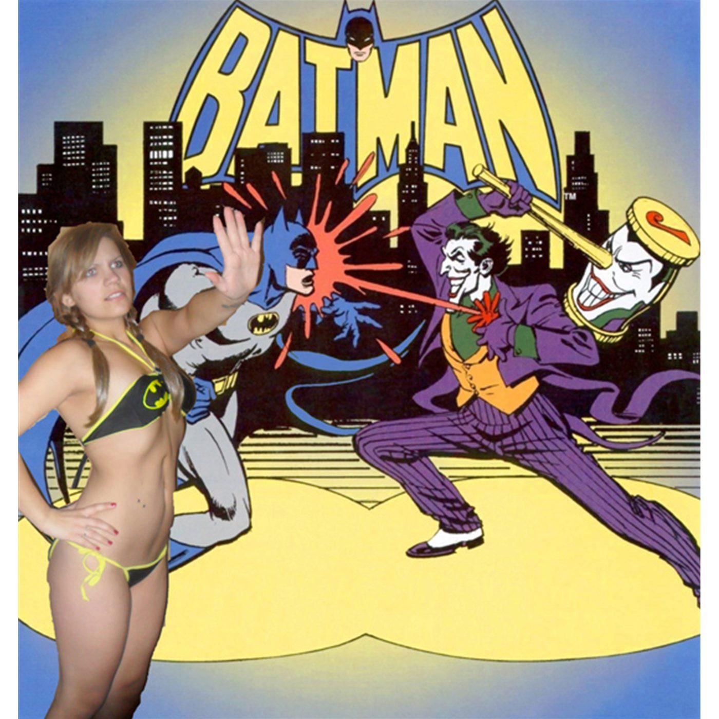 Batman Bandeau Bikini Women's Swimsuit