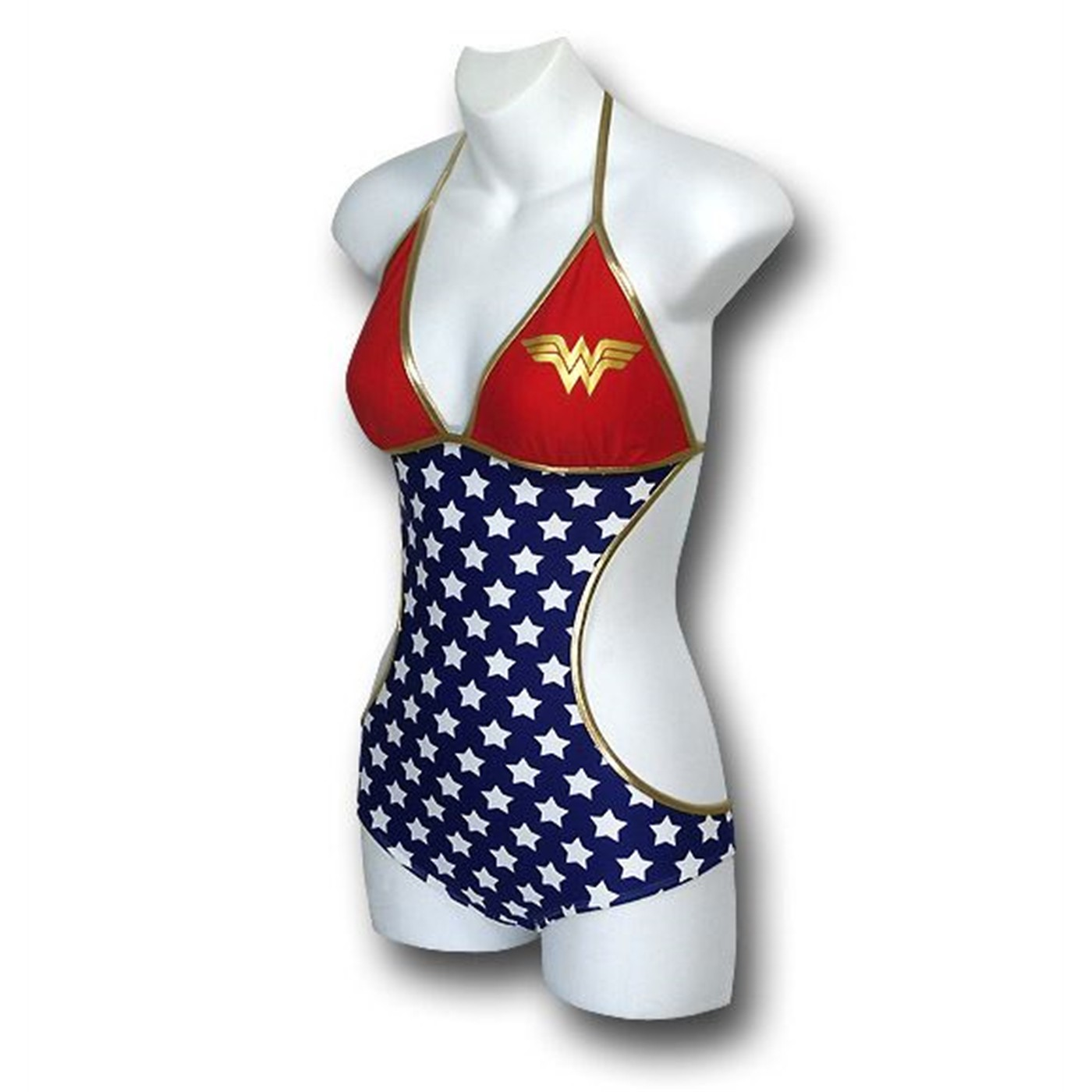 Wonder Woman Triangle Monokini Women's Swimsuit