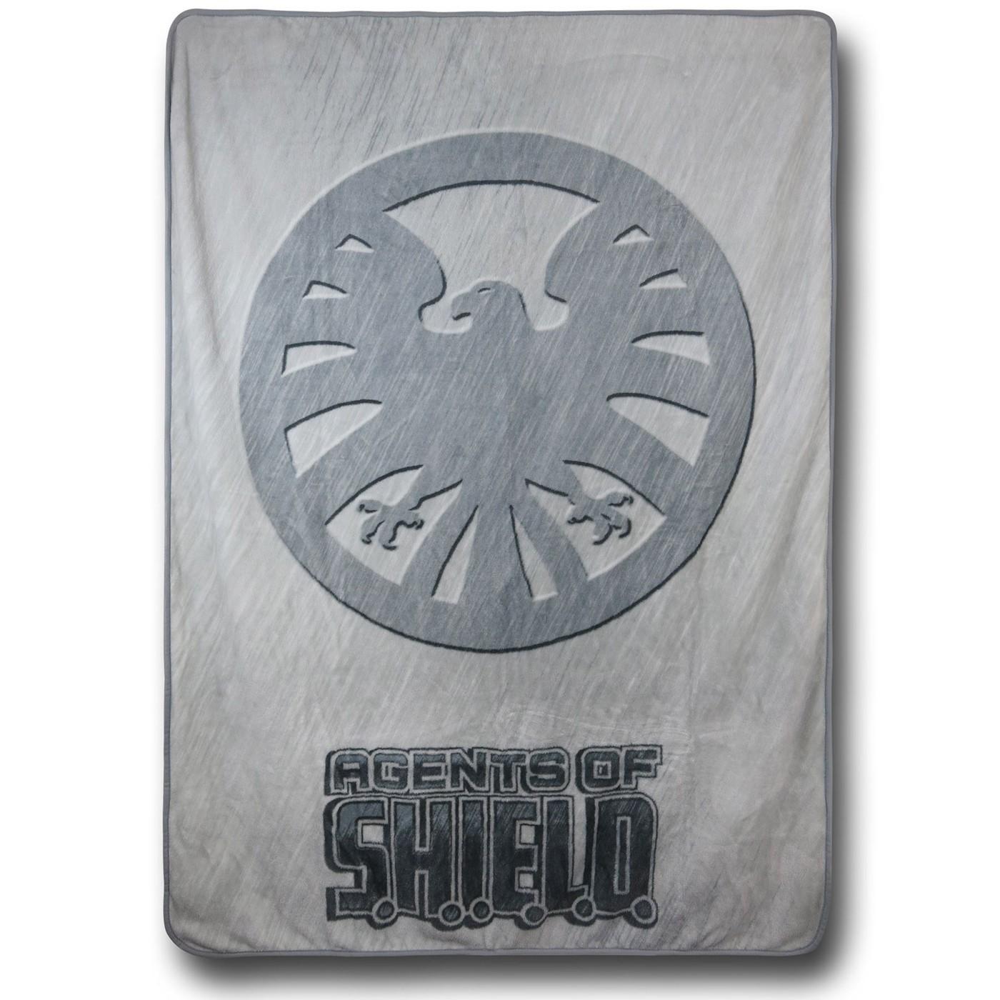 Agents of SHIELD Fleece Throw Blanket