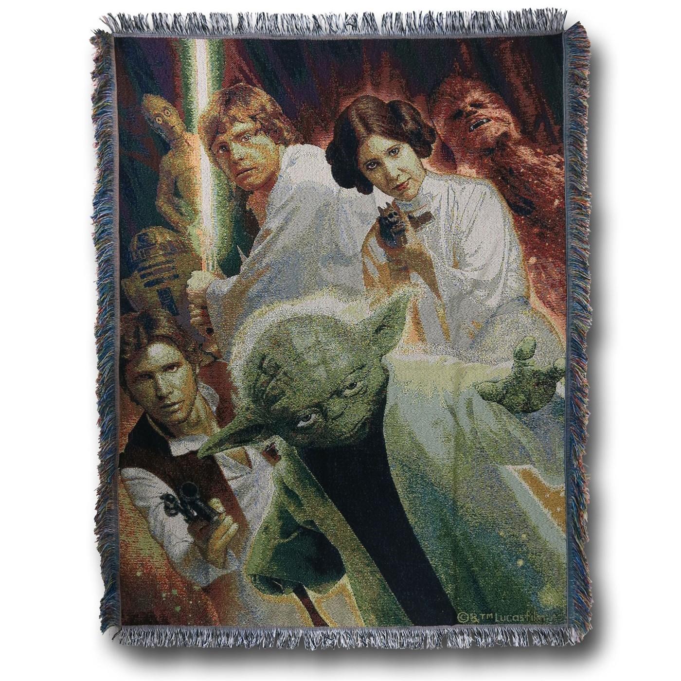 Star Wars Rebel Force Tapestry Throw