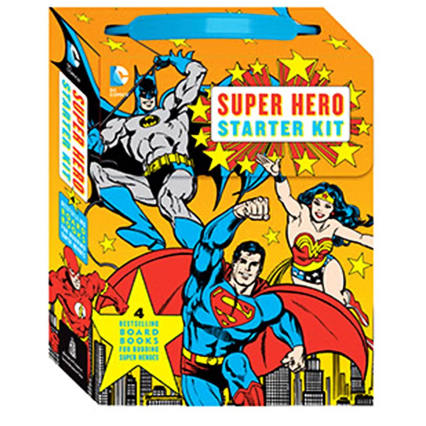 DC Superhero Starter Kit Book Set