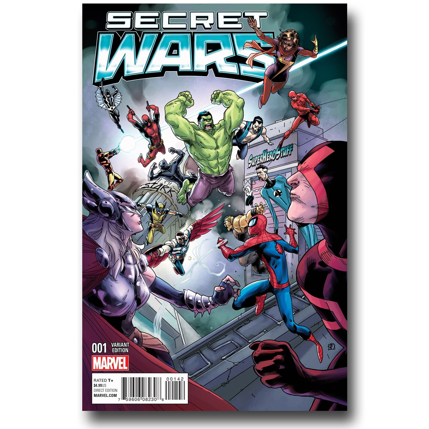 Secret Wars #1 Exclusive Variant by Khoi Pham